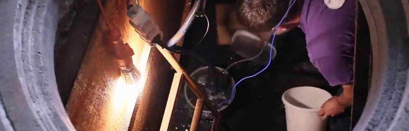 Ремонт кессона: устранение течи, гидроизоляция, утепление