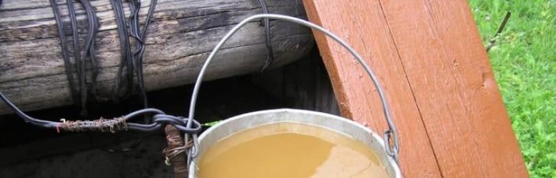 В колодце мутная вода: причины помутнения и способы очищения воды