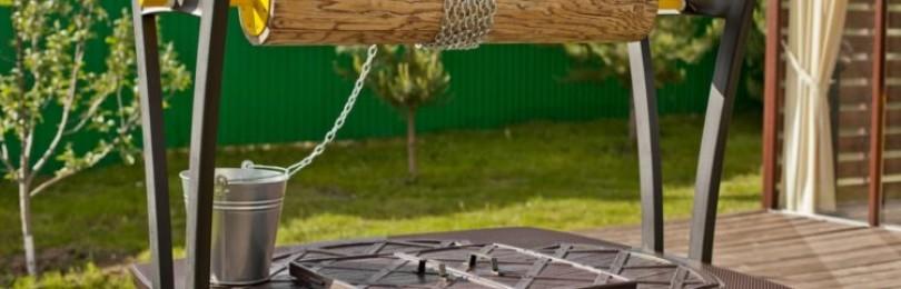Ворот для колодца: виды конструкций, пошаговая инструкция по изготовлению своими руками