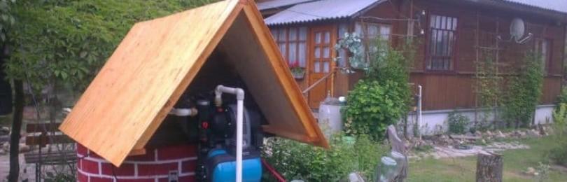 Насосная станция для качки воды колодца на даче: правила выбора, установки и подключения оборудования
