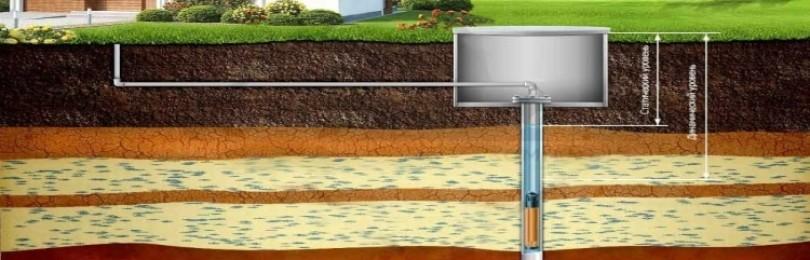 Водоснабжение из скважины – обустройство и принцип действия