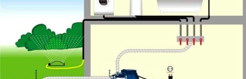 Водоснабжение частного дома из скважины: схема и организация