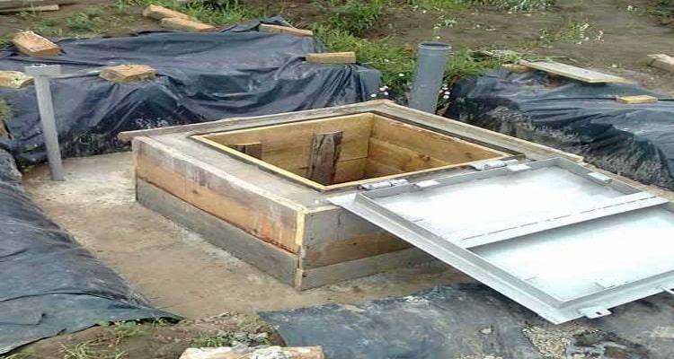 Монолитная конструкция из бетона