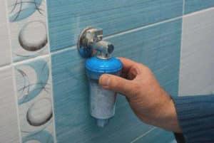 Фильтр-умягчитель воды для стиральной машины