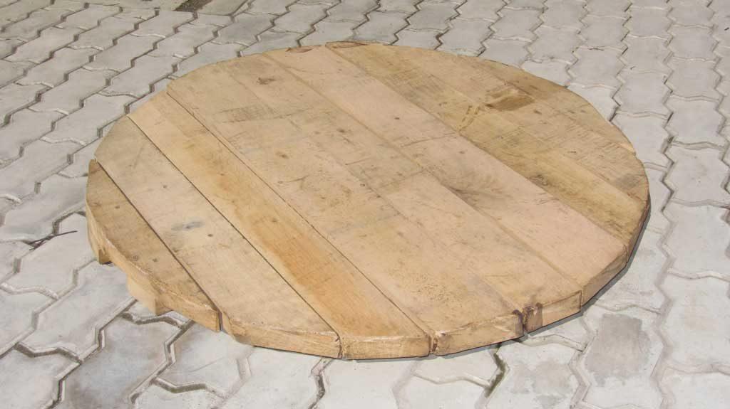 Щит из древесины для укладки на дно