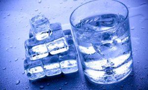Заморозка очисткой воды