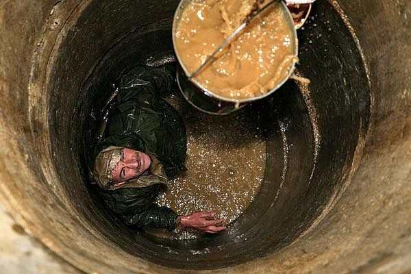 Очистка шахты