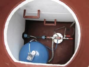 Утепление смотрового колодца для скважины