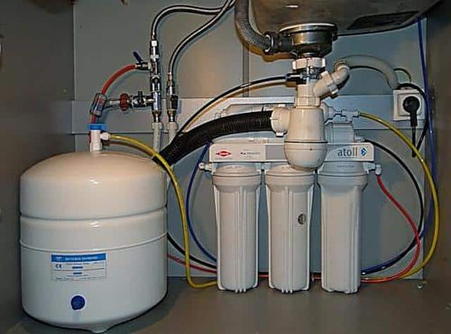 Очистка воды в домашних условиях способом обратного осмоса
