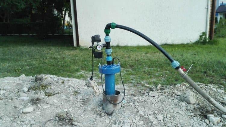 Исчезла вода с скважины