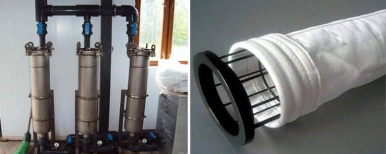 Мешочный фильтр для воды