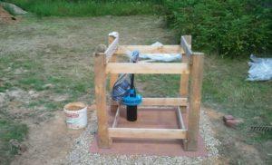 Возведение деревянного каркаса