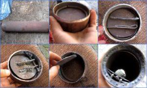 Конструкция лепесткового клапана