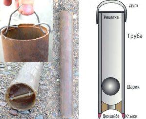 Механическая очистка скважины желонкой