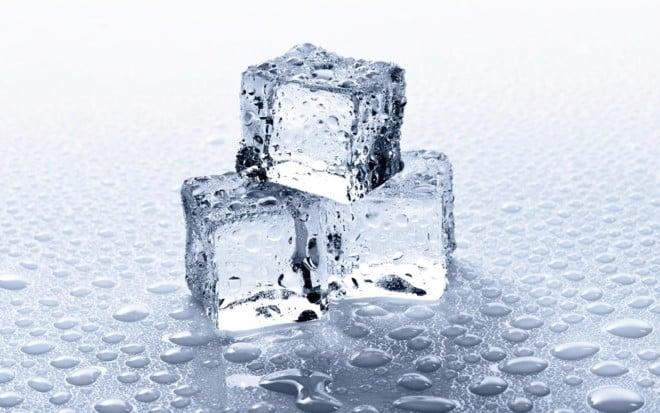 Заморозка воды